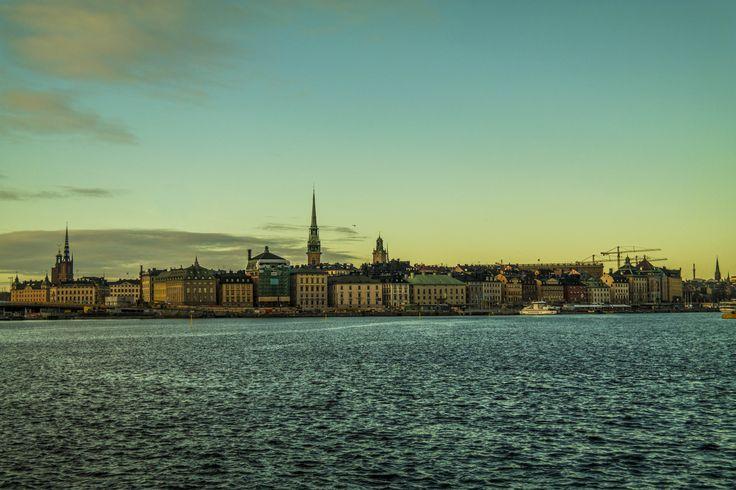 Stockholm, Suède © Bons baisers