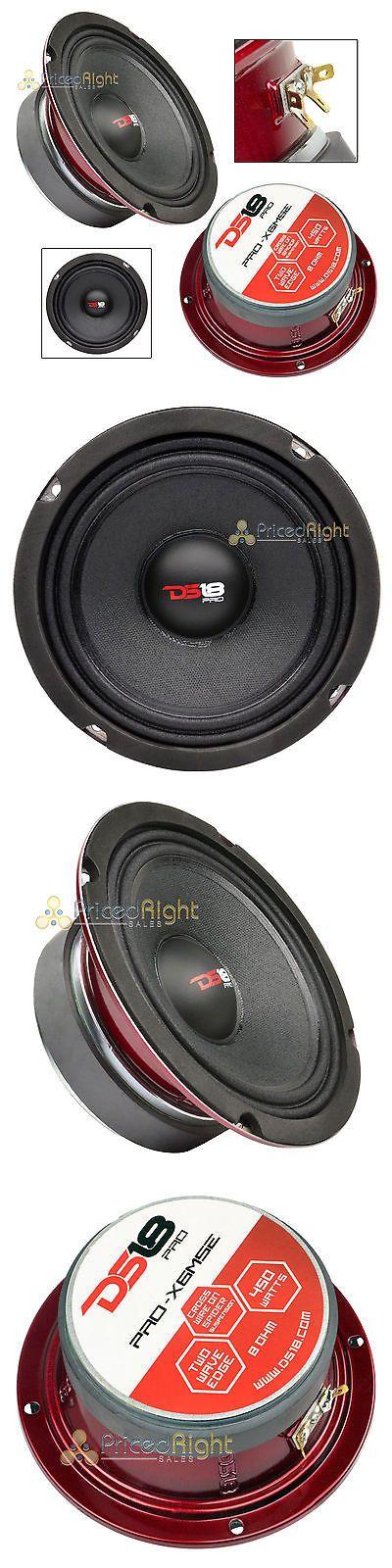 Car Speakers and Speaker Systems: Ds18 Pro-X6mse 6.5 Midrange Speaker Slim 450 Watt Max Mid Loudspeaker Car Audio -> BUY IT NOW ONLY: $37.95 on eBay!