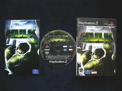 The hulk for sony #playstation 2 ~ 2003 ~complete ~pal #~ages 12+ #(french versio,  View more on the LINK: 	http://www.zeppy.io/product/gb/2/222235708836/