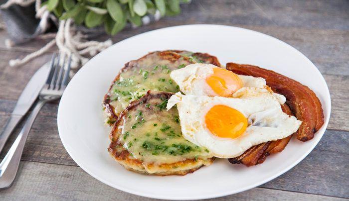 Potato Cheese Pancakes | Good Chef Bad Chef
