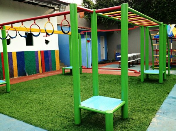 outdoor spielplatz im garten f r am sante kinderspiele keller. Black Bedroom Furniture Sets. Home Design Ideas