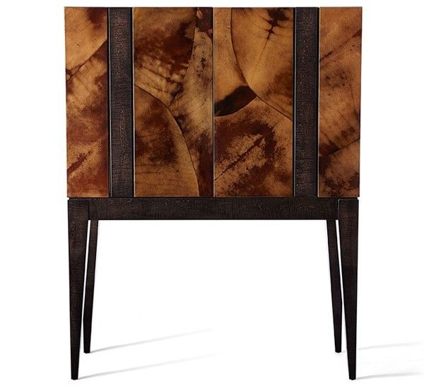 Drinks cabinet - different wood