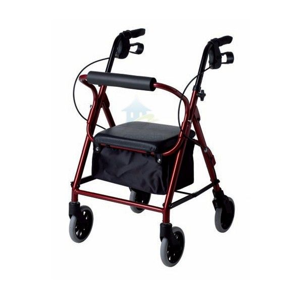 Rolator diseñado para personas de estatura pequeña,con una altura de asiento de 47 cm y un ancho de sólo 50 cm, hacen que sea uno de los andadores más maniobrable en espacios pequeños.