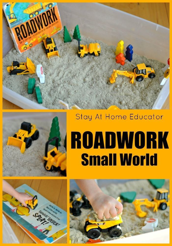 Roadwork Small World - Stay At Home Educator