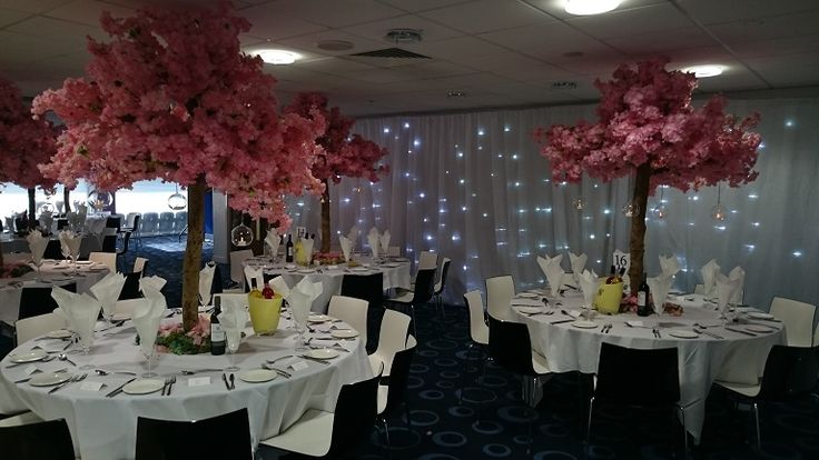 School Prom Venue Dressing