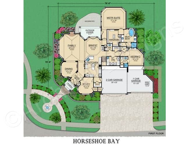 Horseshoe Bay House Plan Luxury Floor Of All Sizes House Plan Horseshoe Bay First Floor Luxury House Plans Luxury Floor Plans House Plans