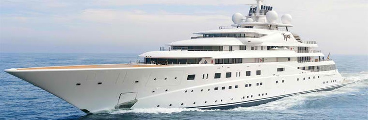 """The Yacht """"TOPAZ""""  do you want party on it ?"""