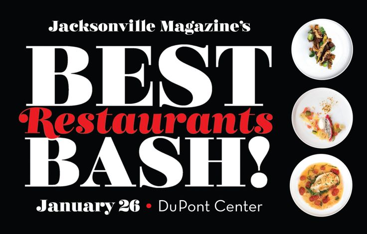 The second annual Best Restaurants Bash! is set for January 26, 2017. Returning to the Jessie Ball duPont Center, these year's event will be bigger and better than before. Ronald McDonald House Charities of Jacksonville returns as the beneficiary. Only 300 tickets will be offered. Like most Jax Mag events, it will be a sold-out affair. Buy your tickets here! Check this page in the coming months to find details about the 2017 vendors! For sponsorship info or participation, contact Mandy N...