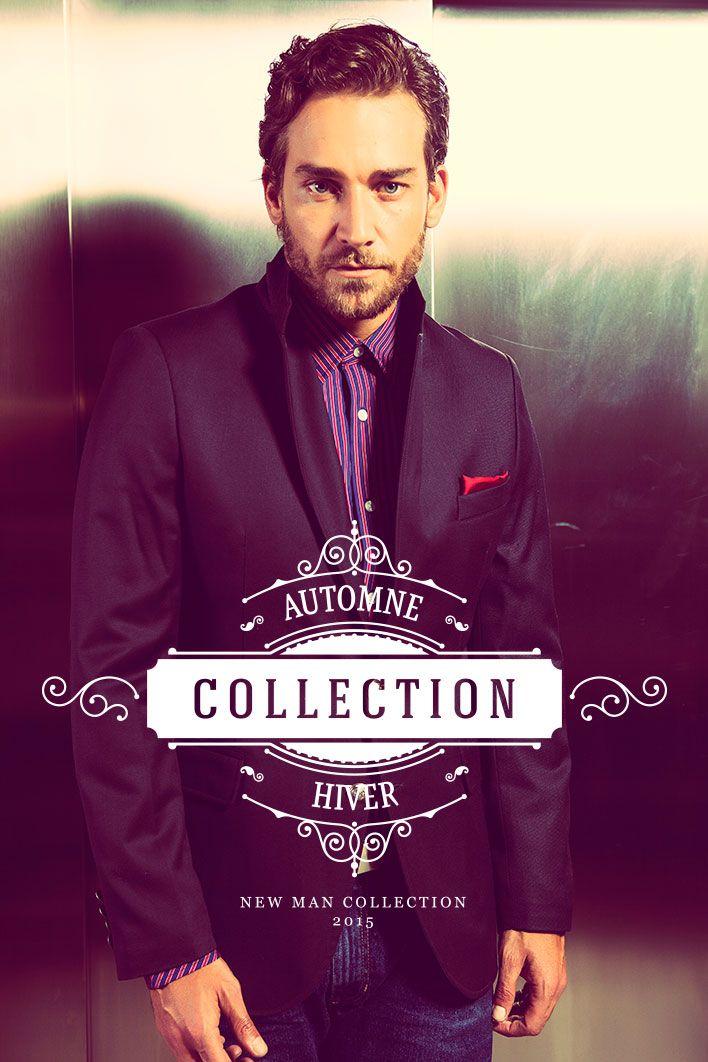 Colección Otoño · Invierno 2015 #NewMan / Automne Hiver Collection