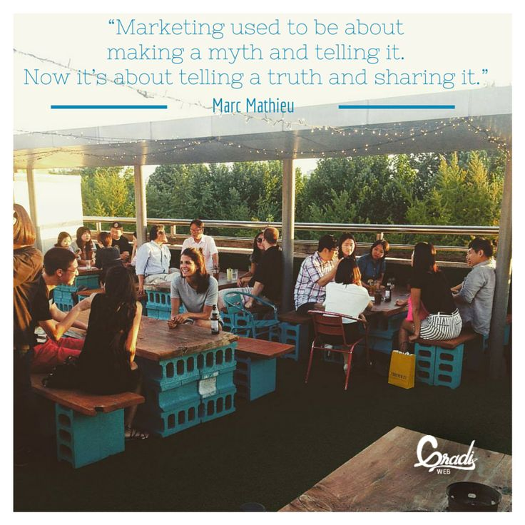 Quote of the Day on the Essence of #ContentMarketing