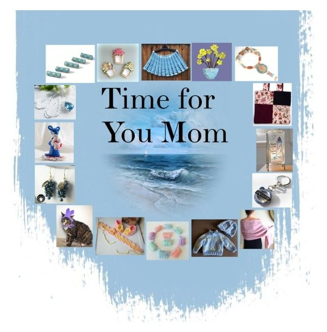"""""""Time for You Mom: Handmade Presents for Her"""" by paulinemcewen ❤ liked on Polyvore featuring Pusheen, Lampara and rustic"""