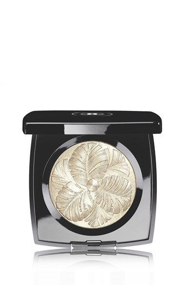 Free shipping and returns on CHANEL CAMELIA DE PLUMES  Highlighting Powder at Nordstrom.com. Illuminate cheekbones, eyelids or décolleté with a translucent veil of silver and gold. Inspired by Gabrielle Chanel's original Fine Jewelry creations, this limited-edition accessory is embossed with a feather motif in the shape of a camellia blossom. Made in Italy.
