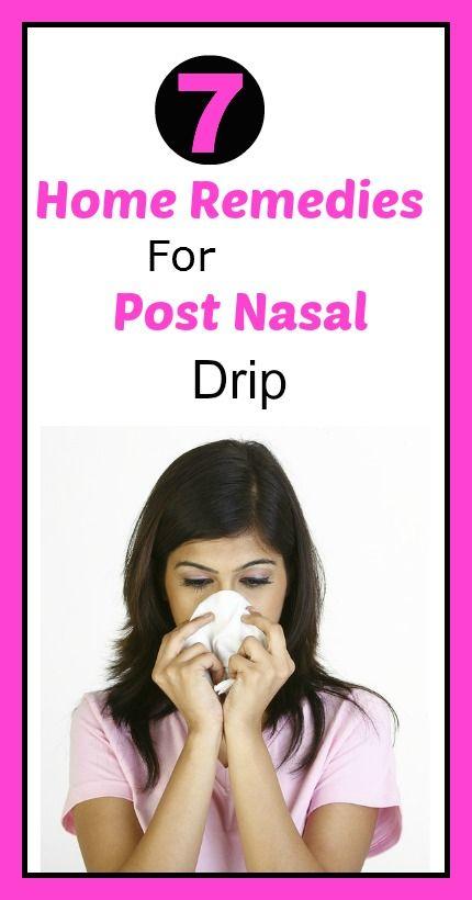 Natural Remedy For Post Nasal Drip Sore Throat
