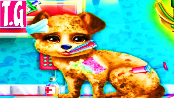 Puppy Rescue Vet— GAMES FOR KIDS.  HD 1080p
