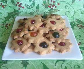 Recipe Little Christmas Shortbreads by Elliebird - Recipe of category Baking - sweet