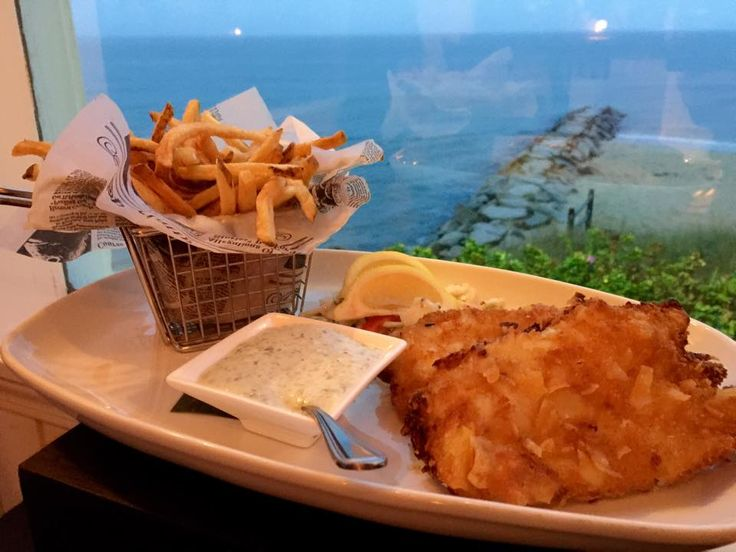 It's hard to order anything else off the menu when you've had the cape cod potato chip crusted cod from the Ocean House Restaurant.