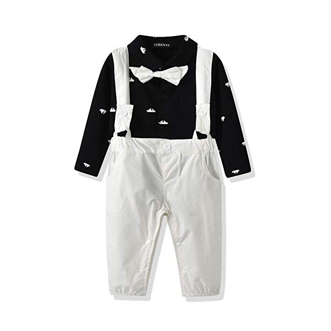 Baby Snow Pants Down Trousers for Boys Girls Jumpsuit Romper Snowsuits Down 12-18 Months Happy Cherry