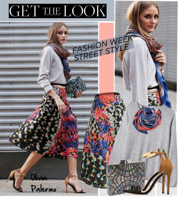 Get The Look Olivia Palermo Street Style At Fashion Week By Helenevlacho On Polyvore Olivia