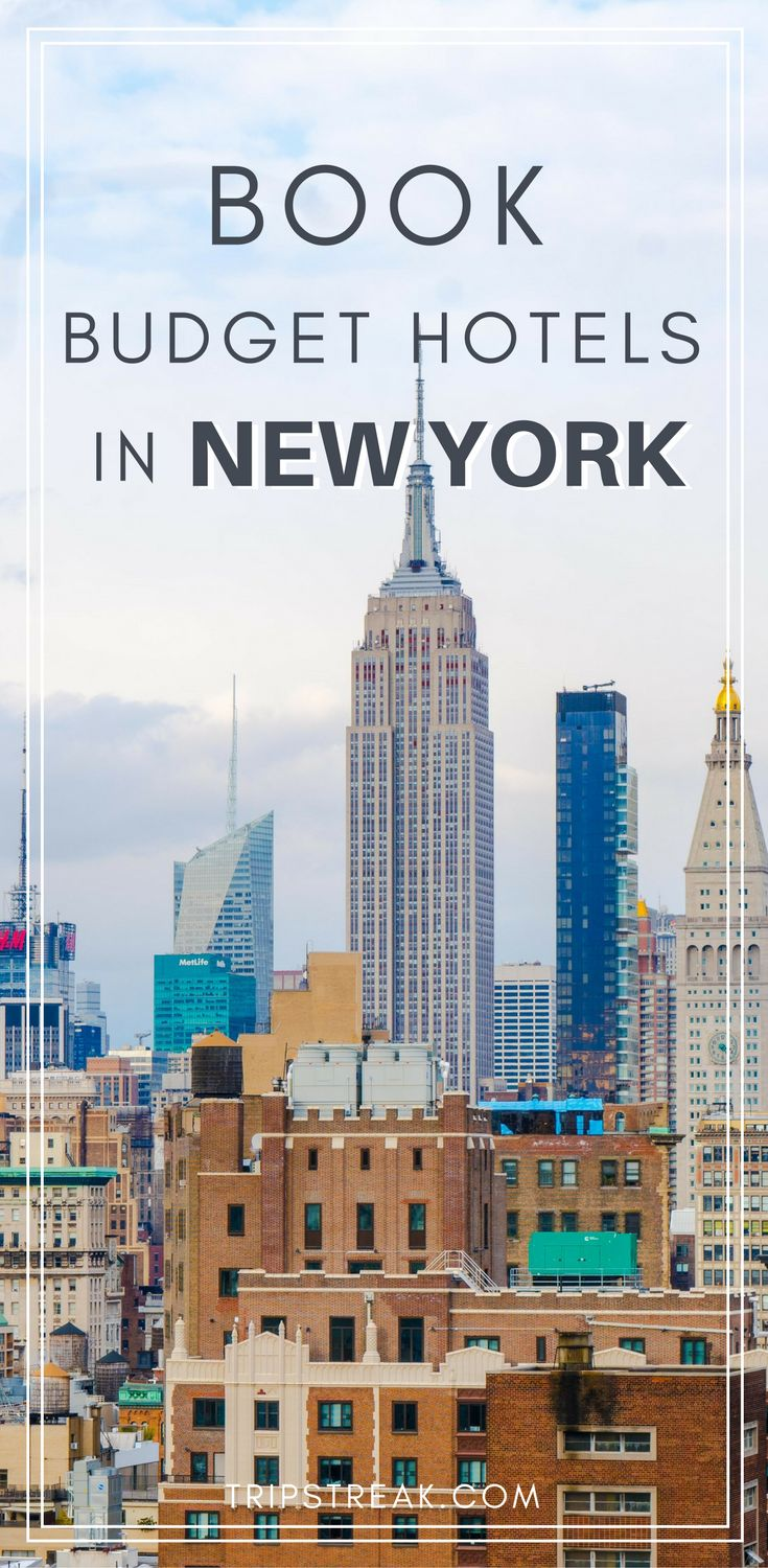 Book cheap hotels in New York City! New York City Travel Tips | New York Travel | NYC