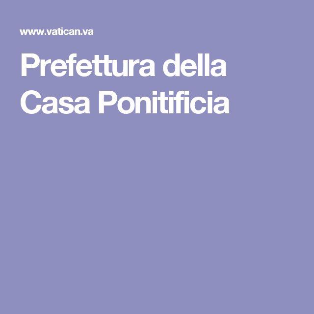 Prefettura della Casa Ponitificia
