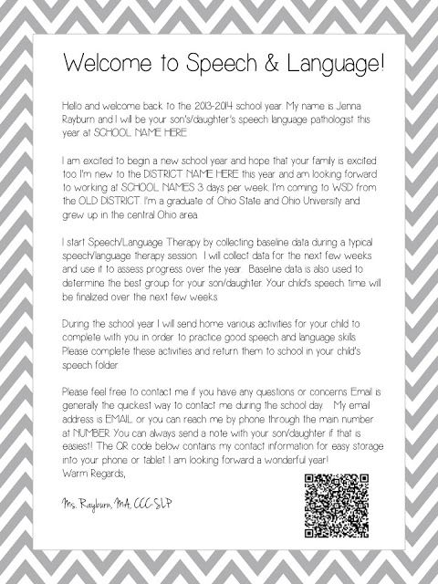 25+ best ideas about Parent welcome letters on Pinterest ...