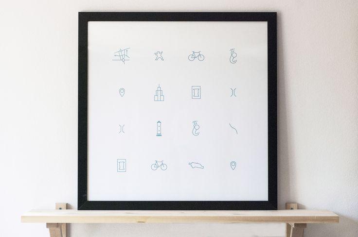 lokalny.dunked.com #lokalny #pictograms #icons
