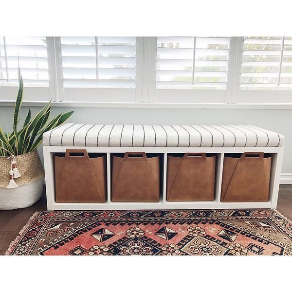 Ikea Hacks Kallax Bench