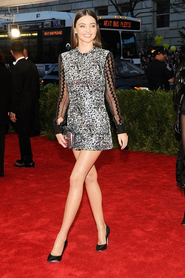 How To Wear Sheer Clothing In Real Life A Celeb Guide Metallic Mini Dresses And Miranda Kerr