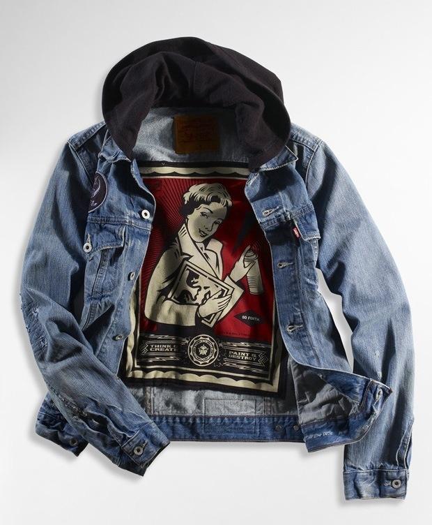 Obey - Levi's Denim Jacket | Men Style - Fashion | Pinterest | Jackets, Denim and Levi denim jacket