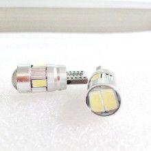 1 stk. 3W LED bilpære med køre-/bremse-/side-/parkeringslys