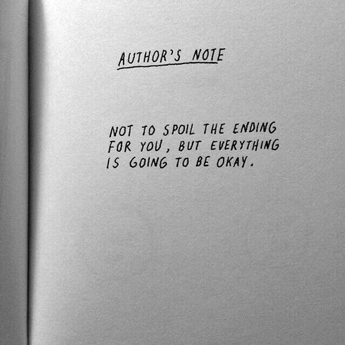 """Author's note… "" °"