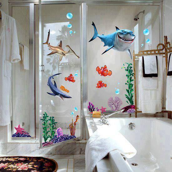 20 best finding nemo images on pinterest for Finding nemo bathroom ideas