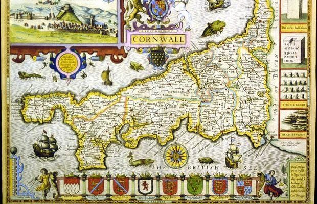 convertisseur monnaie | John Speed Cornwall Map John Speed 1552 1629 Is The Pictures to pin on ...