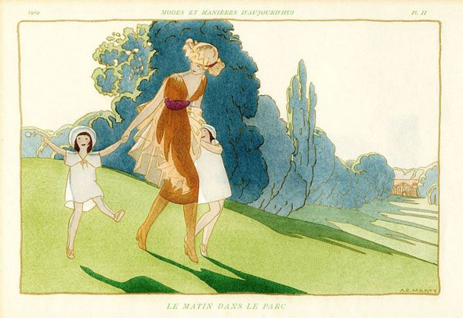 Андре Эдуарда Марти (Andre Edouard Marty) годы жизни 1882 – 1964