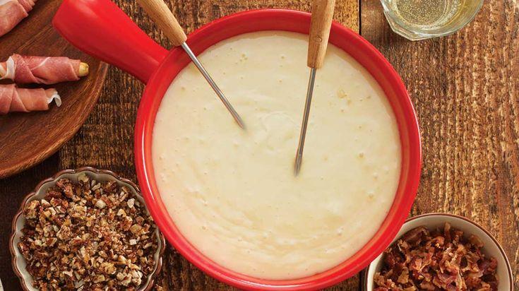 Fondue au fromage du chef