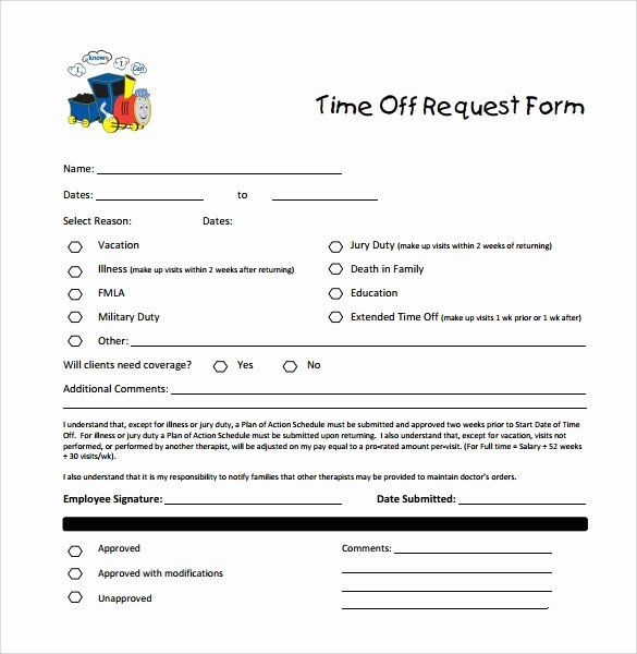 Pto Request Form Template Awesome Sample Time F Request Form 23 Download Free Documents Time Off Request Form Business Plan Template School Admission Form