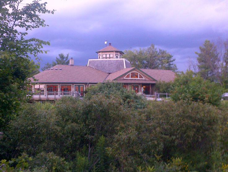 Great shot of the outdoor centre at Little Cataraqui Creek Conservation Area @sueh1965