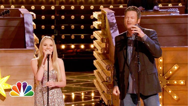 "Danielle Bradbery and Blake Shelton: ""Timber, I'm Falling in Love"" - The Voice Highlight"