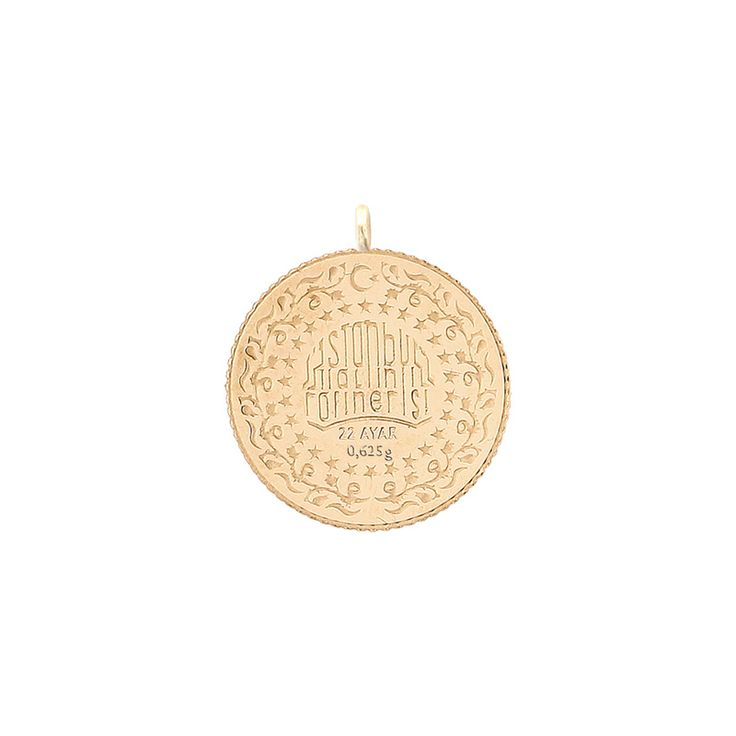 0,625 gr 22 Ayar İAR Yeniçeri Takı Serisi Yarı Çeyrek Altın / GRAMALTIN