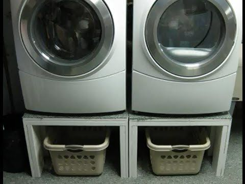 15 Best Build Pedestals For Washer Dryer Images On