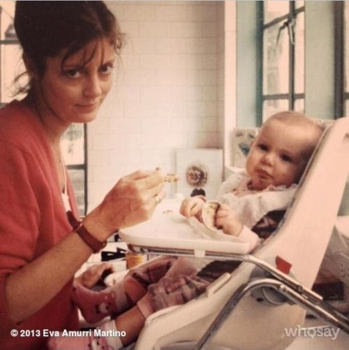 Susan Sarandon with her daughter, Eva Amurri <3