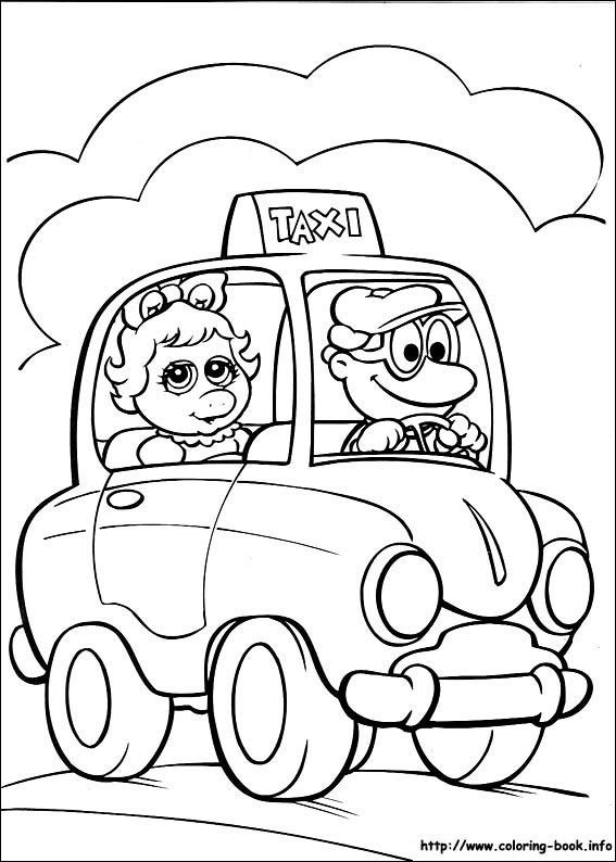 21 best Muppet Show Coloring Pages