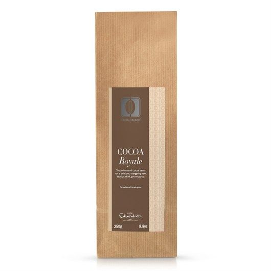 Cocoa Royale is our delicious new cocoa drink, created in our London cafe, that peps you up and helps you stay calm, positive and energised all throughout the Christmas season. #hotelchocolat #hcdreamhamper