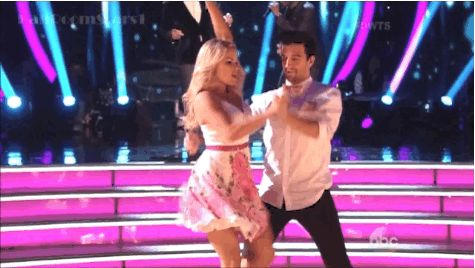 Witney Carson and Mark Ballas... I know there is an age difference but they make such a cute couple!!! #dwts