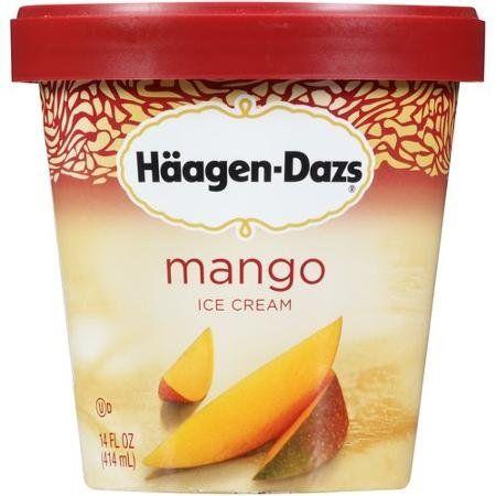 Haagen Dazs Ice Cream Mango