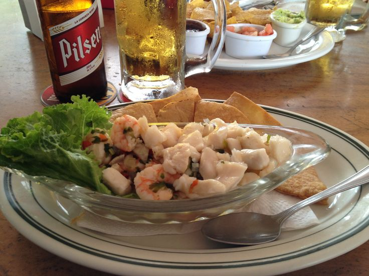 Walter's Mixed Seafood Ceviche 082313 | Dine Line | Pinterest