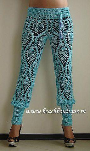 #crochet #Pineapple trousers