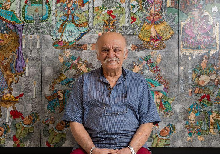 Contemporary Istanbul 10. yılında yeni bir bölümle sanat severleri İran modern sanatıyla buluşturuyor. Contemporary Tahran adındaki bu bölümün sanatçılarından Ali Akbar Sadeghi'yle sanatı ve İran çağdaş sanatı üzerine bir söyleşi gerçekleştirdik.