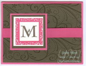 Best su other note cards monograms images