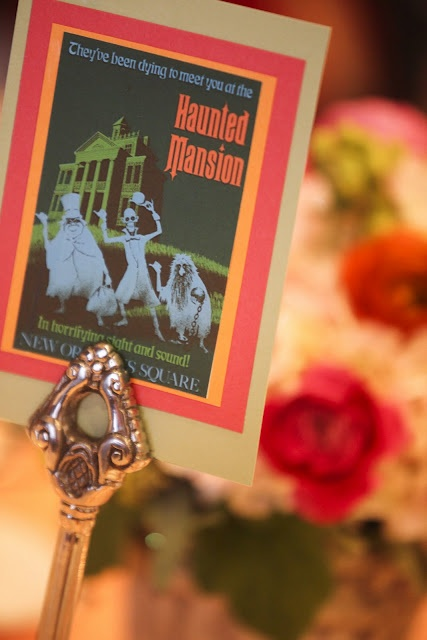 """Everyone would be assigned to a table or """"land"""" in the happiest wedding on earth !"""